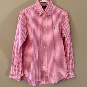 Men's Polo - Pink Button Down